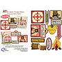Camp Sugar Bear, Patterns (6 in total), Accessory Fabric Packet and Button set, by the Quiltcompany