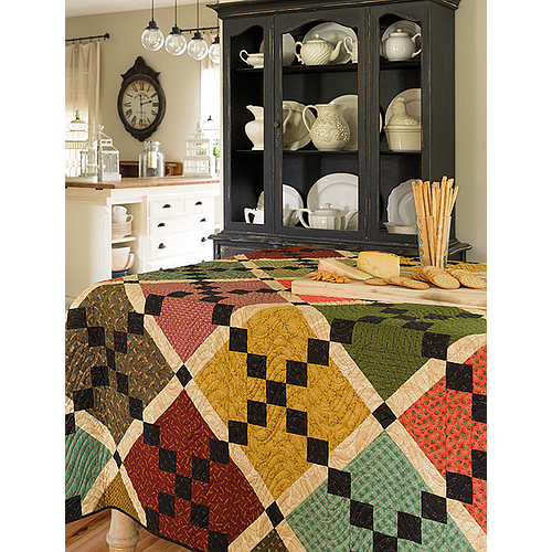 B1525, Simple Patchwork - Stunning Quilts That Are a Snap to Stitch by Kim Diehl