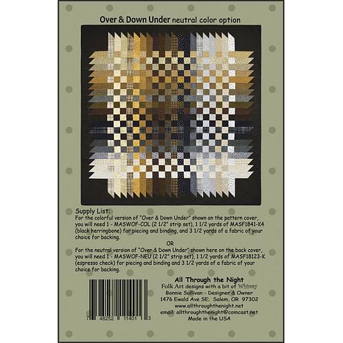 ATN1607, Over & Down Under by Bonnie Sullivan