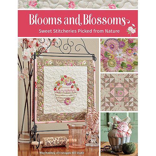 B1546, Blooms and Blossoms - Sweet Stitcheries Picked from Nature